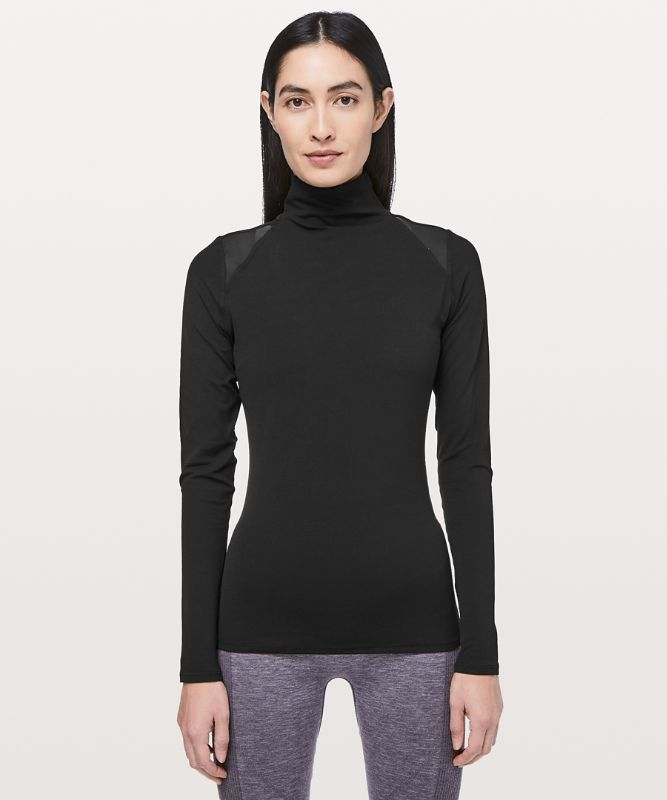 Ethereal Mock Neck