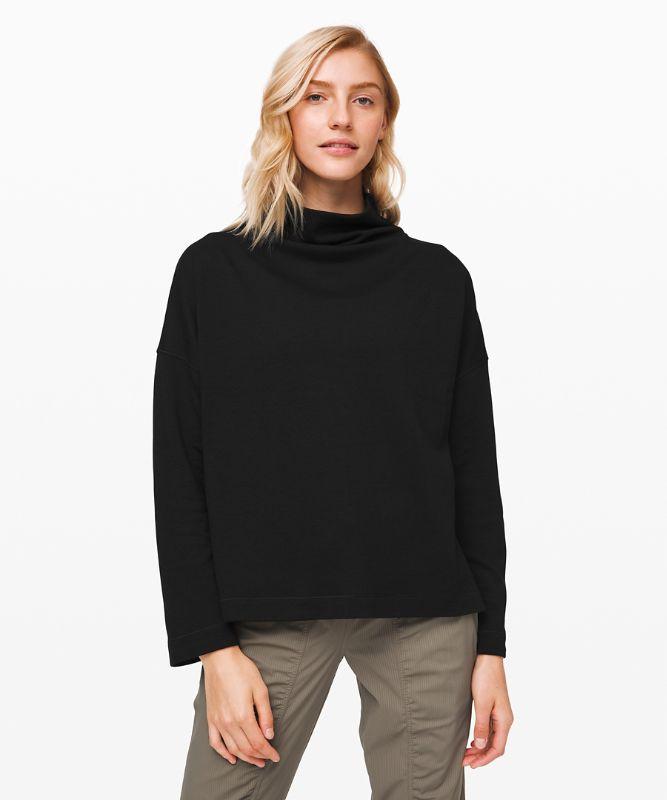 Principal Dancer Funnel Neck Sweater