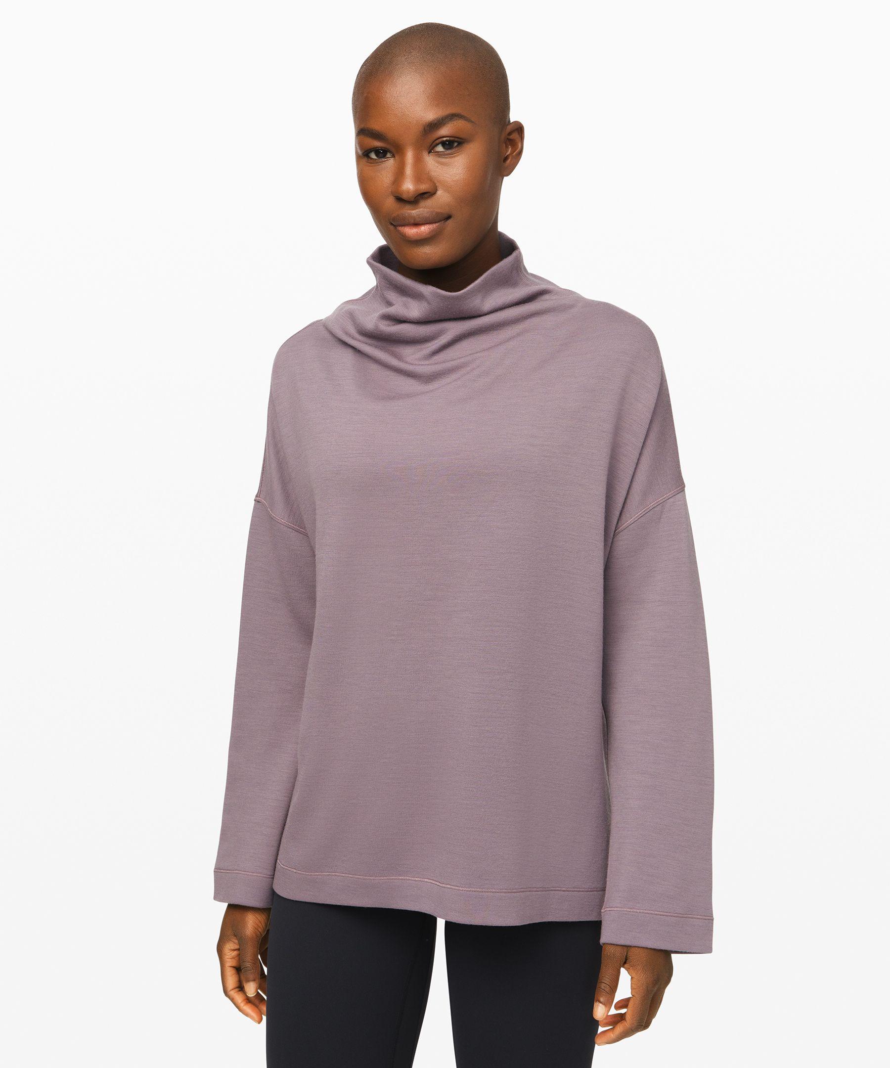Principal Dancer Funnel Neck Sweater New by Lululemon