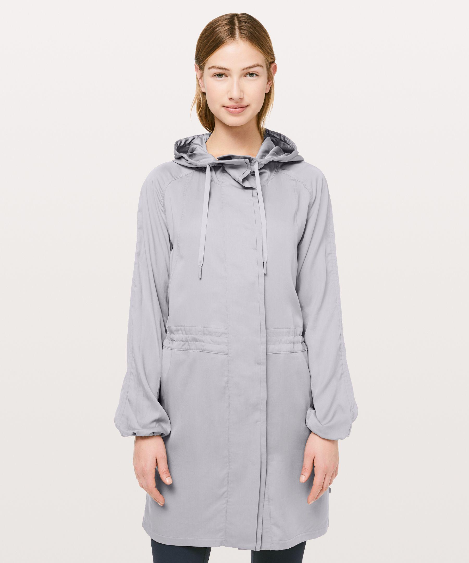 Lululemon City Stroll Jacket In Silverscreen