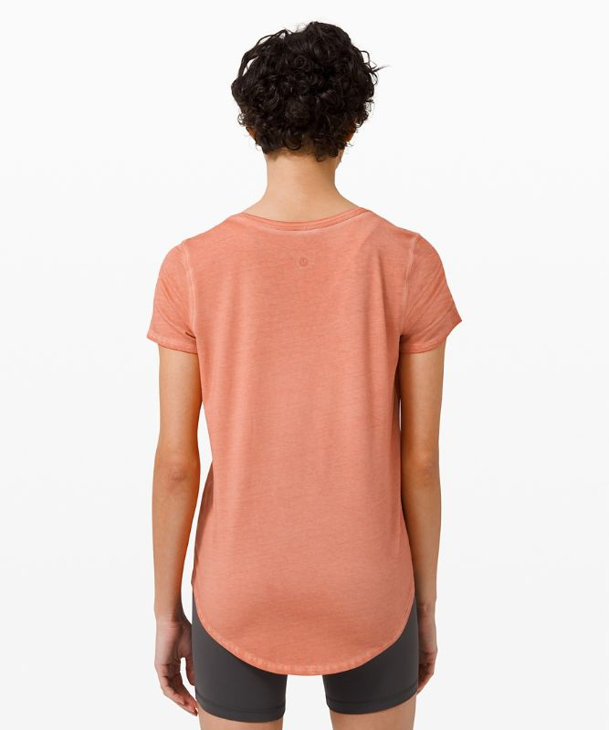 T-shirt col rond Love *Fade