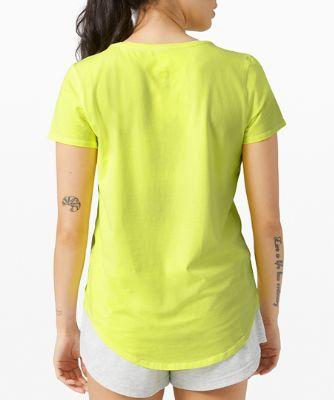 T-shirt col rond Love *Décoloration