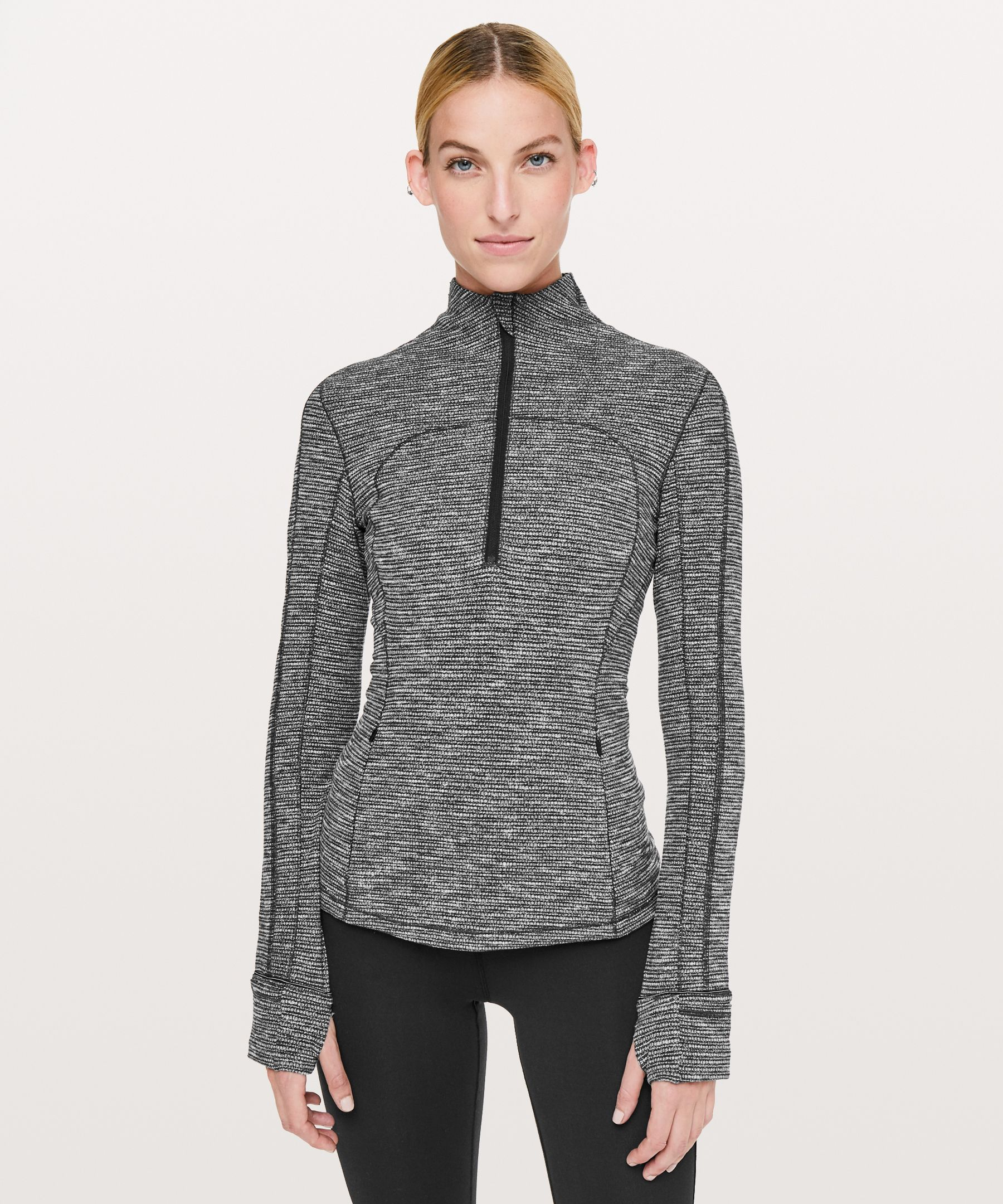 Run Briskly 1/2 Zip New by Lululemon