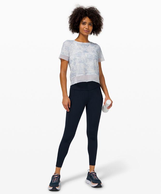 Stripe in Stride Short Sleeve