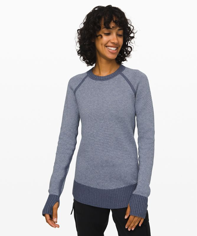 Still Lotus Sweater *Reversible