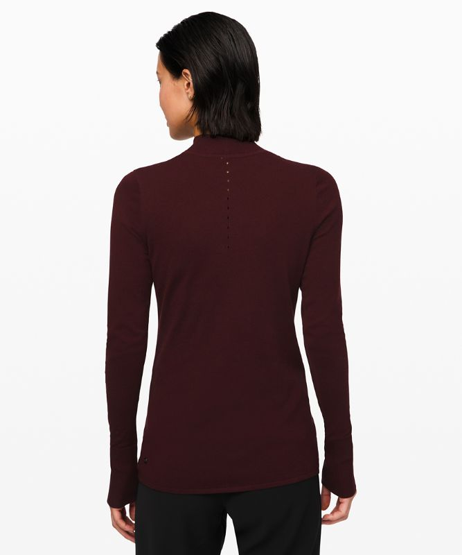 Stand Steady Mock Neck Sweater *Online Only