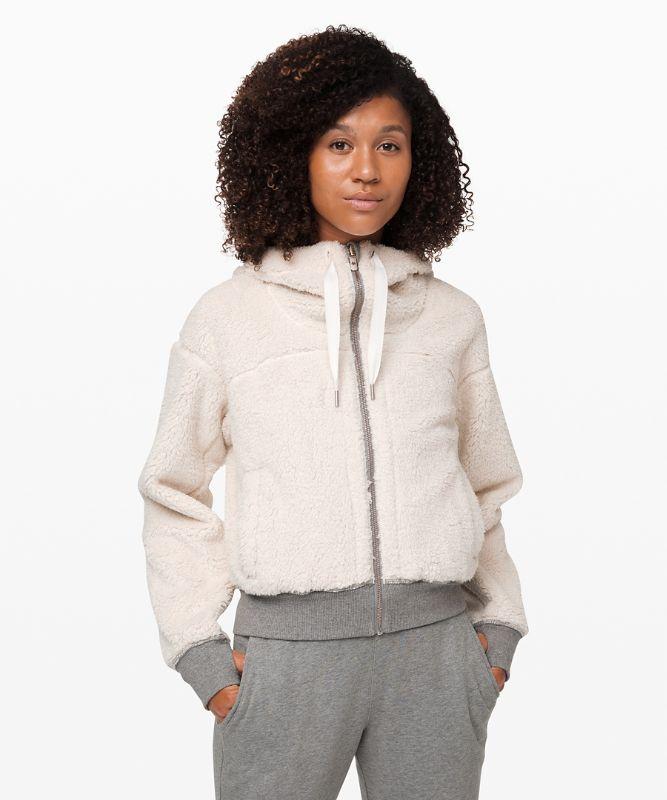 Short Sweet and Sherpa Jacket