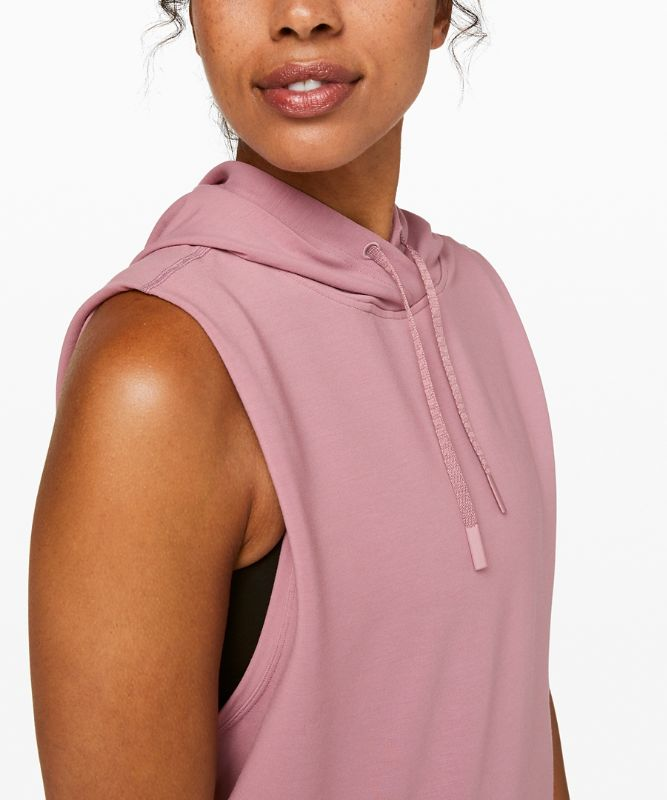 Stronger as One Sleeveless Hoodie *lululemon X Barry's