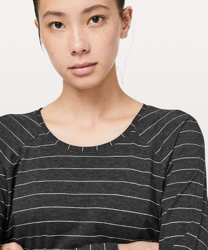 Emerald Langarm-Shirt