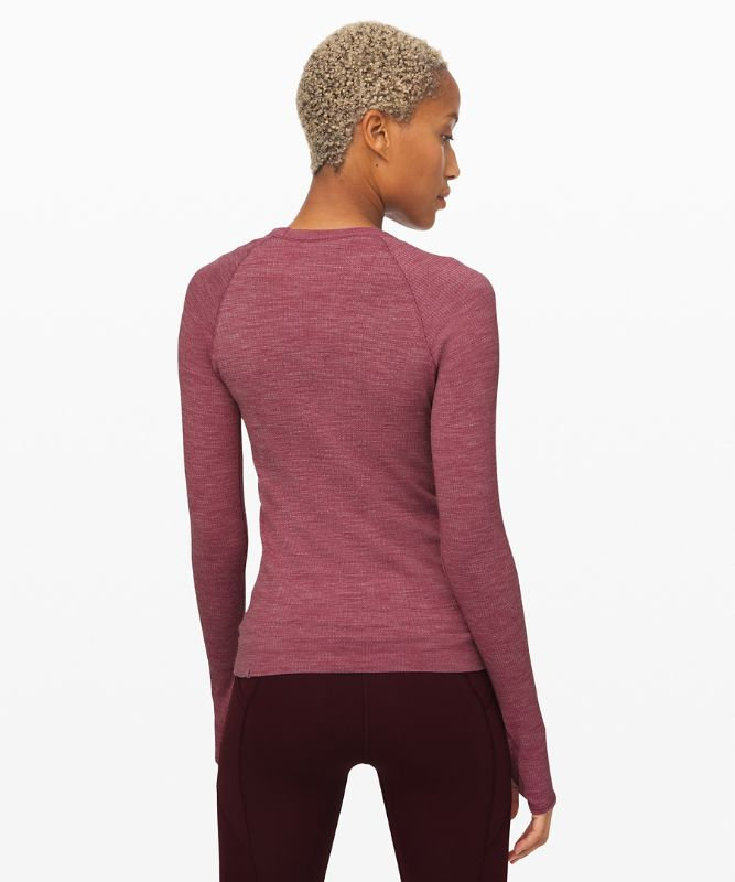 Swiftly Wool Pullover *Ribbed