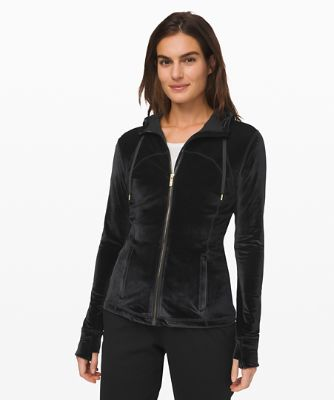 Define Hooded Jacket *Velvet
