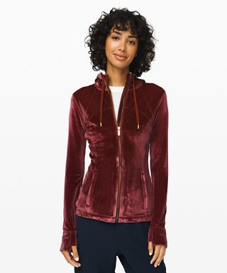 Define Hooded Jacket Velvet by Lululemon