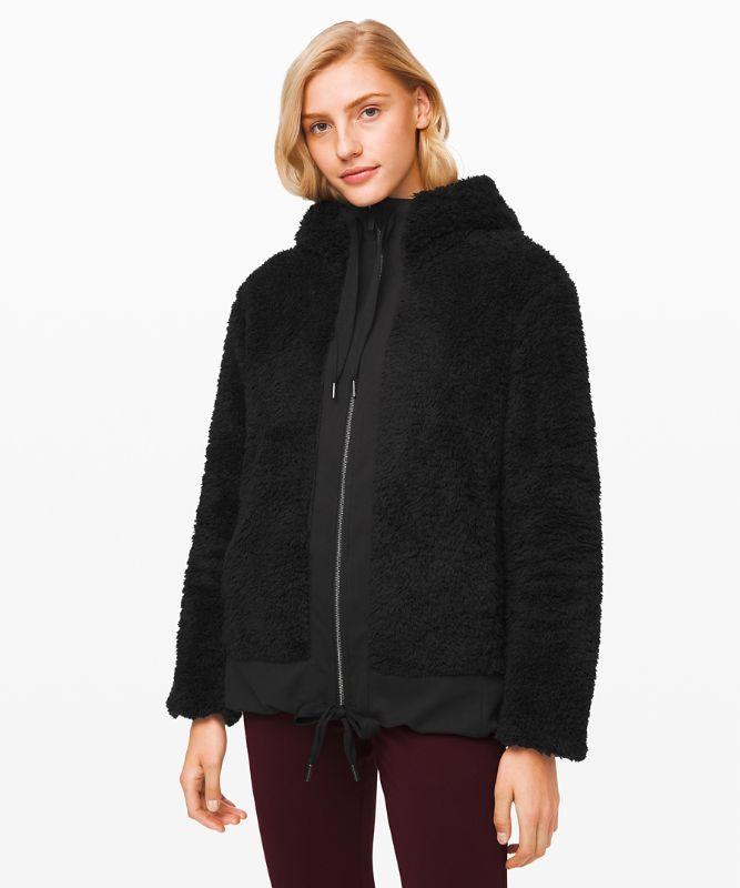 Manches longues zippé Warm Restore *Sherpa