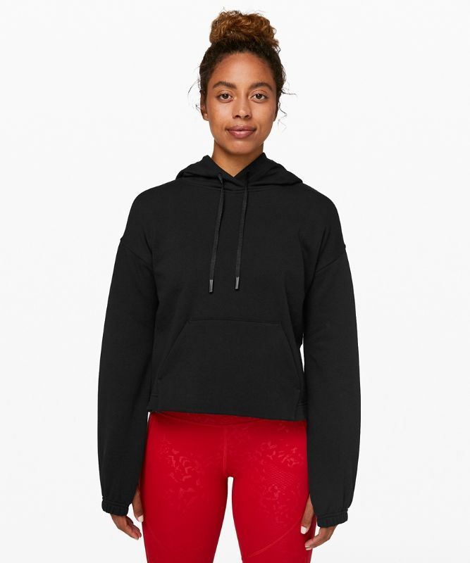 Stronger As One Cropped Hoodie