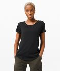 T-shirt col rond Love