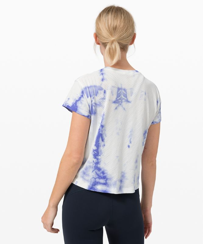 T-shirt Train to Be *Shibori