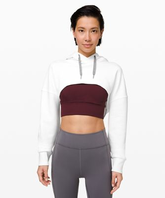 New Ambition Cropped Hoodie