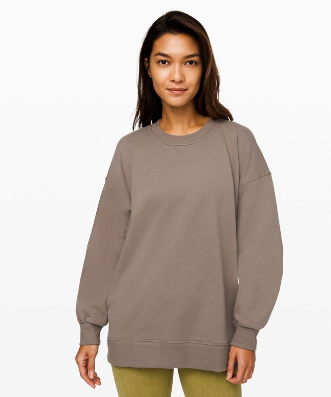 Sweat col rond Perfectly Oversized