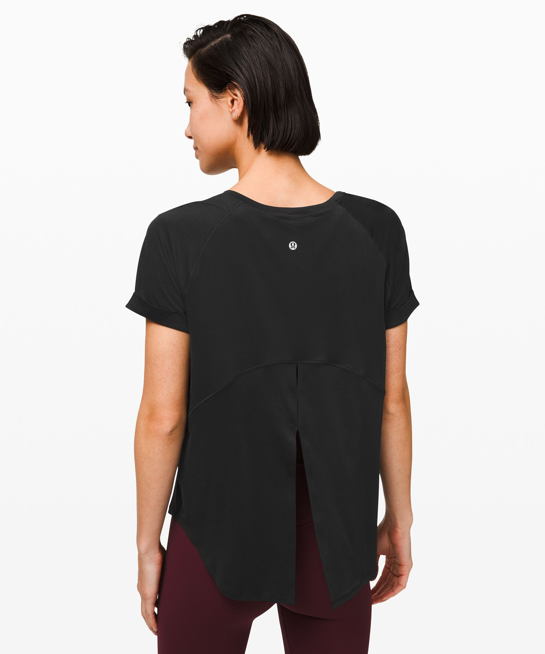 Open Up Tie Back Tee