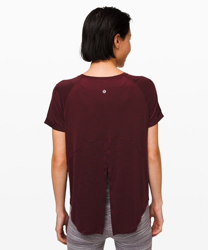 Open Up Tie Back T-Shirt