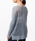 Well Being Crew Sweater *Linen