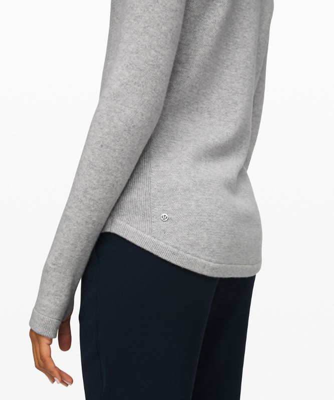 Sit in Lotus Sweater *Cashmere