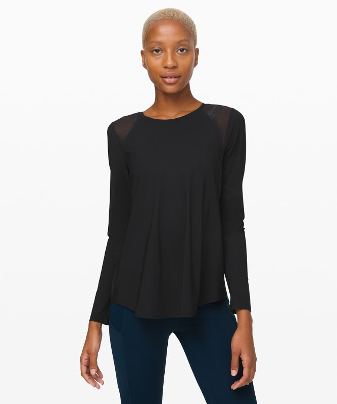 Airy Breakaway Long Sleeve
