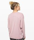 Loungeful Drape Long Sleeve *Cupro