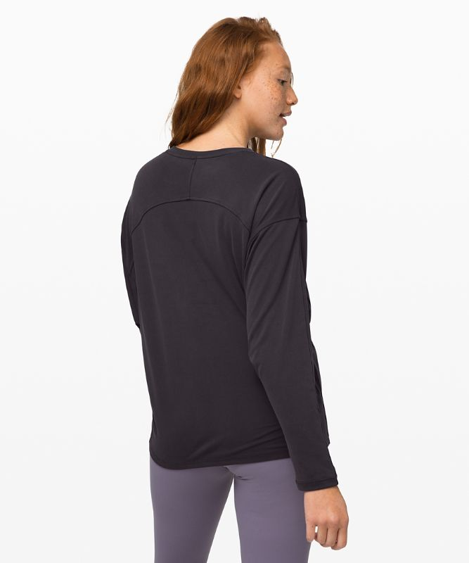 Loungeful Drape Long Sleeve *Cupro