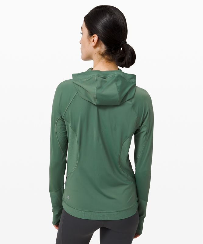 Sleek Performance 1/2 Zip Hood