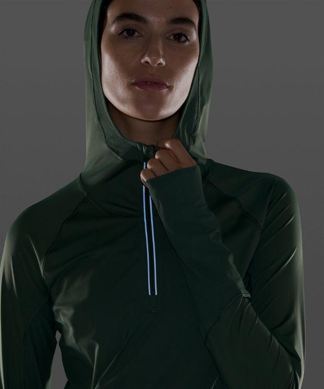 Sleek Performance 1/2 Zip Hood