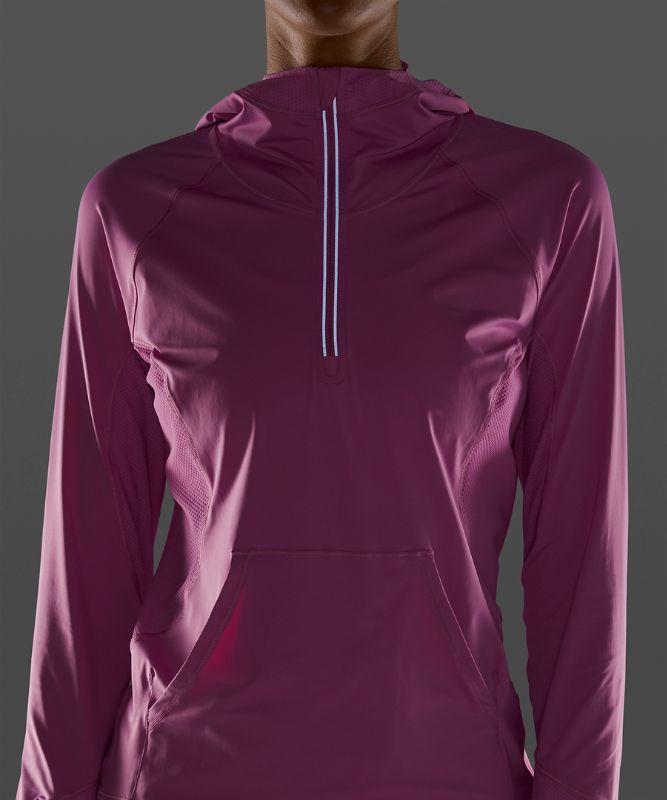 Capuche 1/2 zippée Sleek Performance