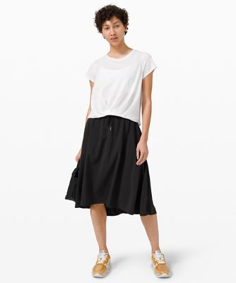 Pleats and Thank You Short Sleeve