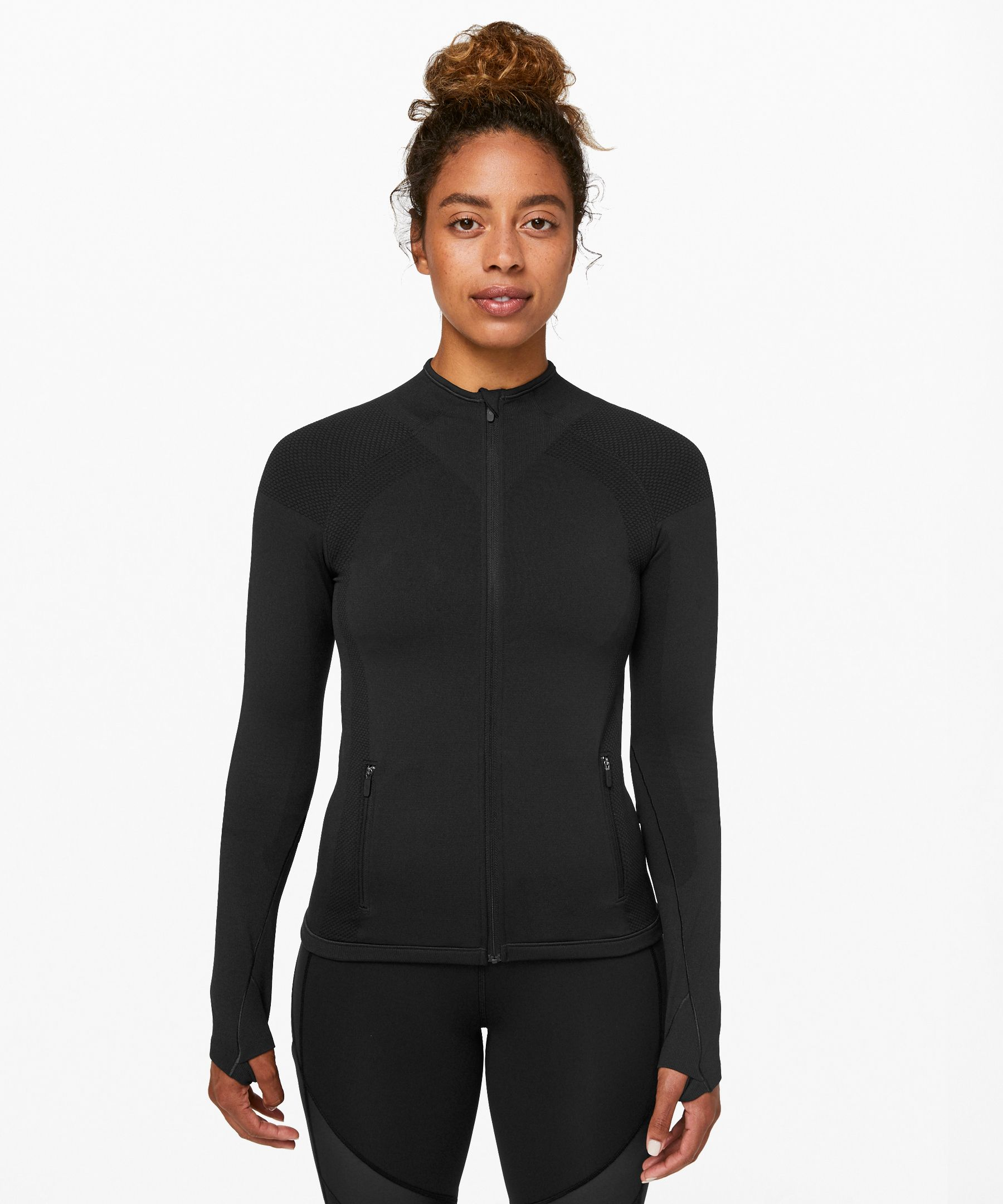 Lululemon For The Chill Of It Jacket * X Barry's In Black