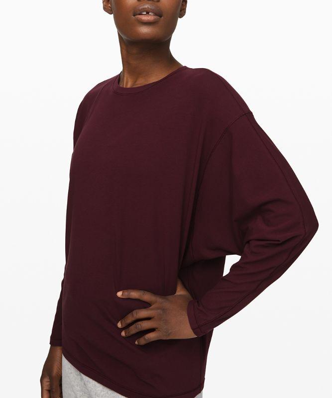Loungeful Drape Long Sleeve