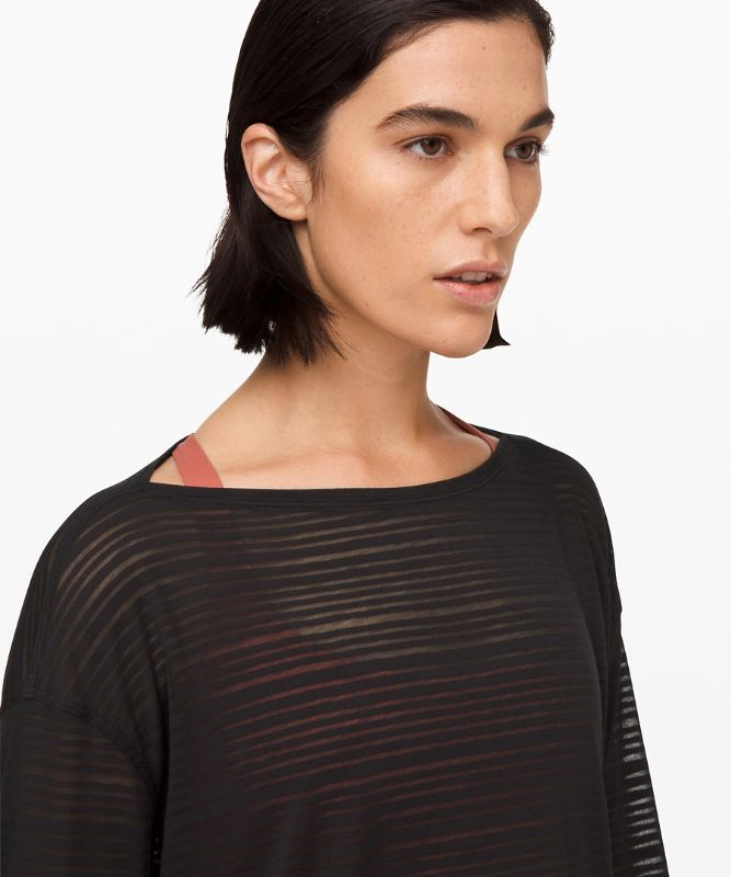 Back in Action Long Sleeve *Sheer