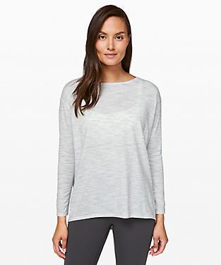340251e619762e Women's White Long Sleeve Shirts | lululemon athletica