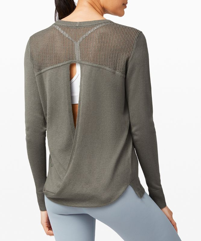 Back to Balance LS Sweater
