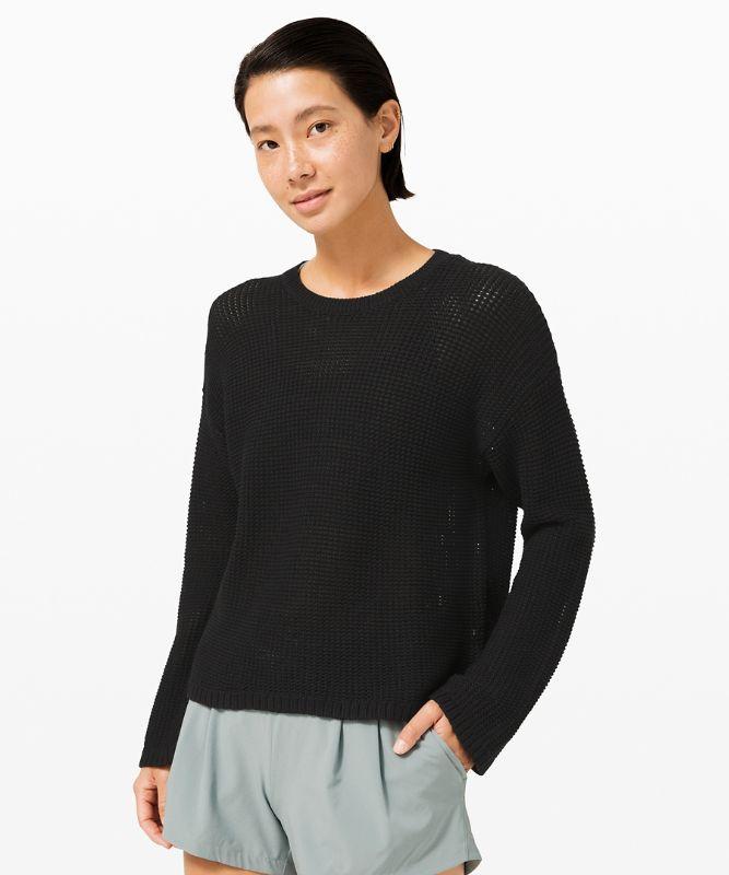 Easy Embrace Long Sleeve Sweater