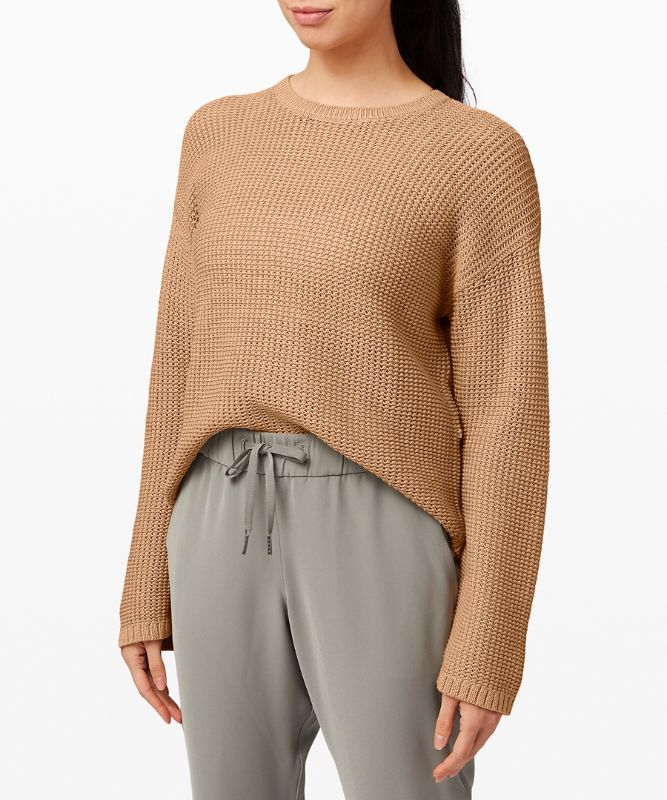 Easy Embrace Long Sleeve Sweater