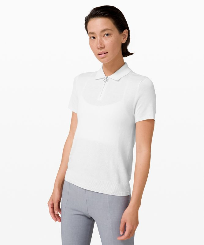 City Calm Short Sleeve Sweater