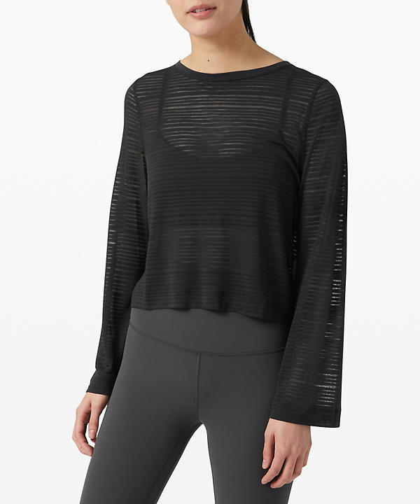 Clear and Present Long Sleeve | Women's Long Sleeve Shirts
