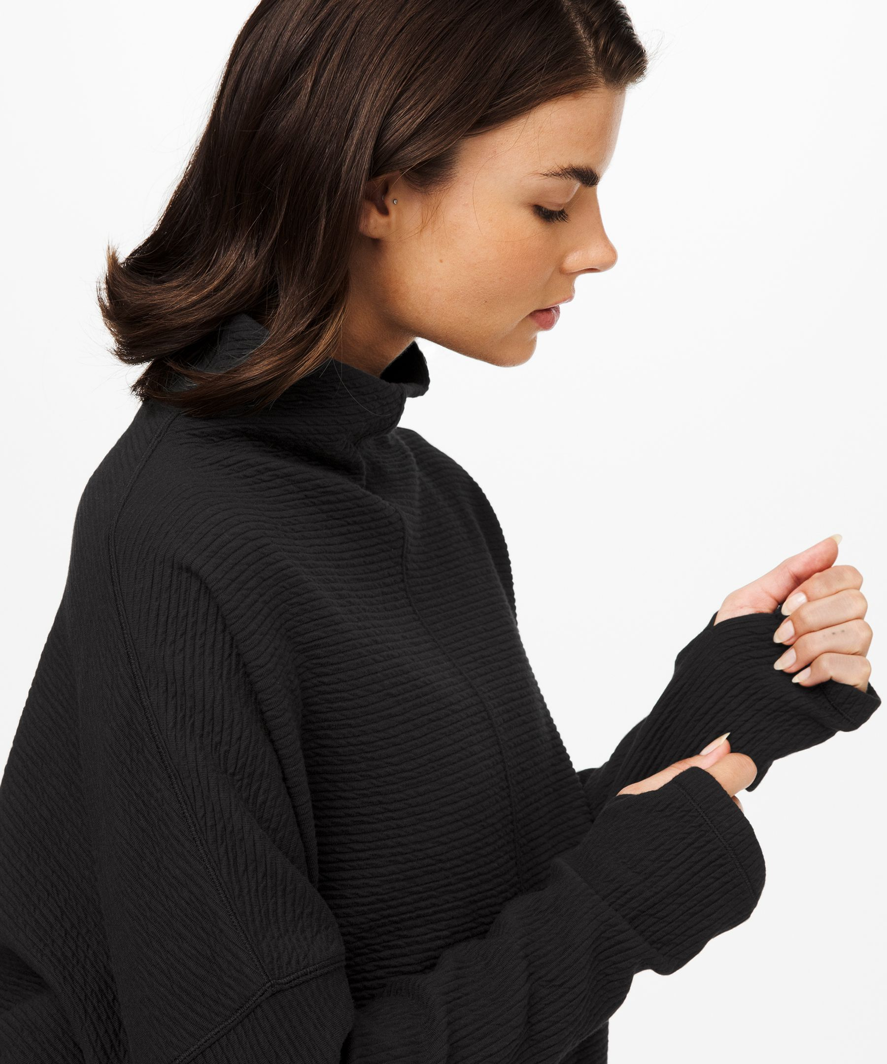 Along the Way Mock Neck Long Sleeve