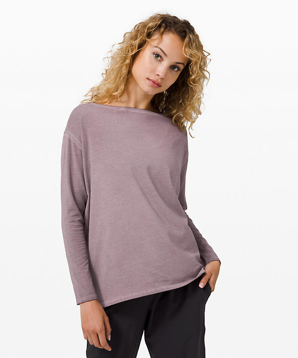 Back In Action Long Sleeve *Fade   Women's Long Sleeve Tops