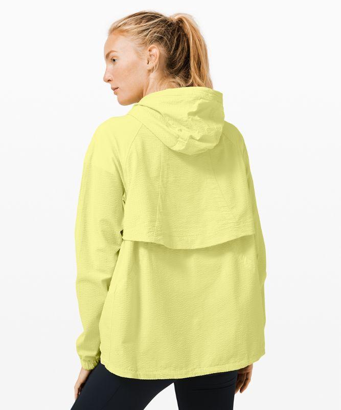 Seek Vistas 1/2 Zip Jacket *Seersucker
