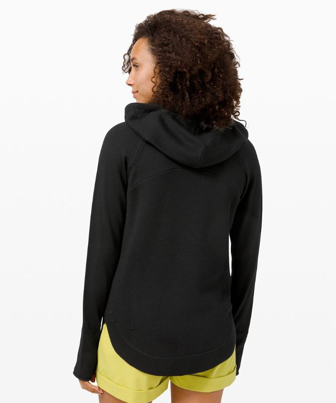 Sit in Lotus Hoodie Sweater