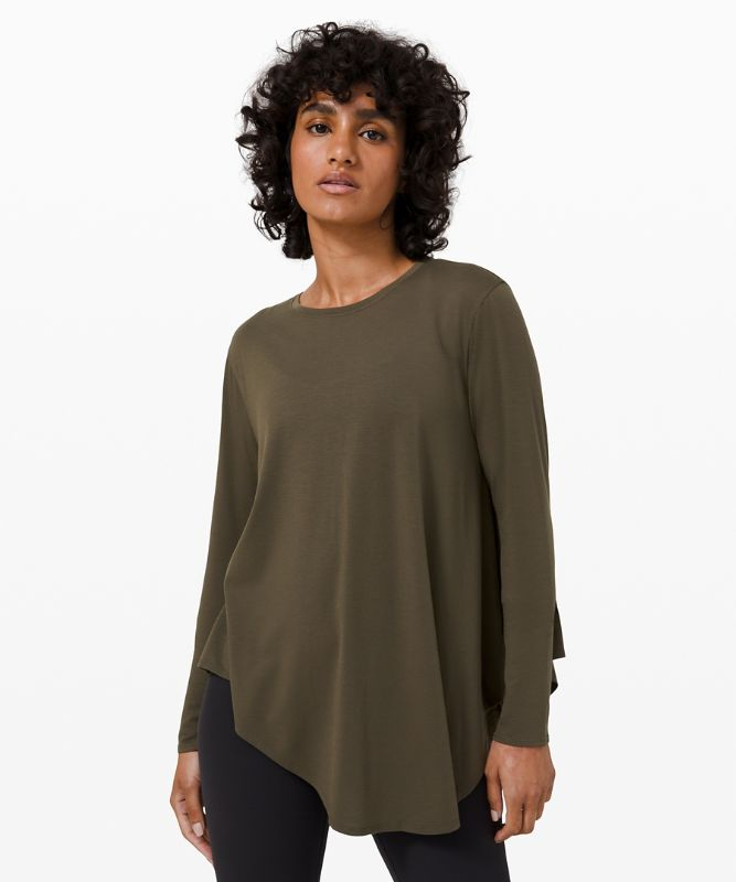 Lifted Balance Langarmshirt