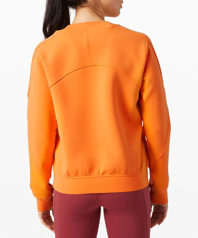 Manches longues col rond City Sweat *Spacer