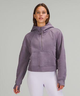 Sweat à capuche demi-zippé Scuba Oversized