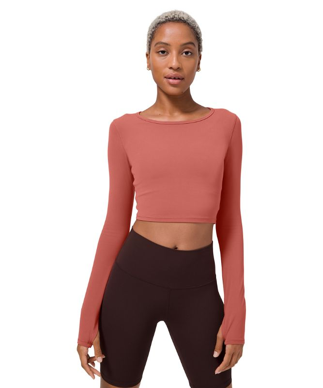 Ever Elated Cropped Long Sleeve